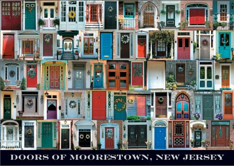 Doors Of Moorestown Poster